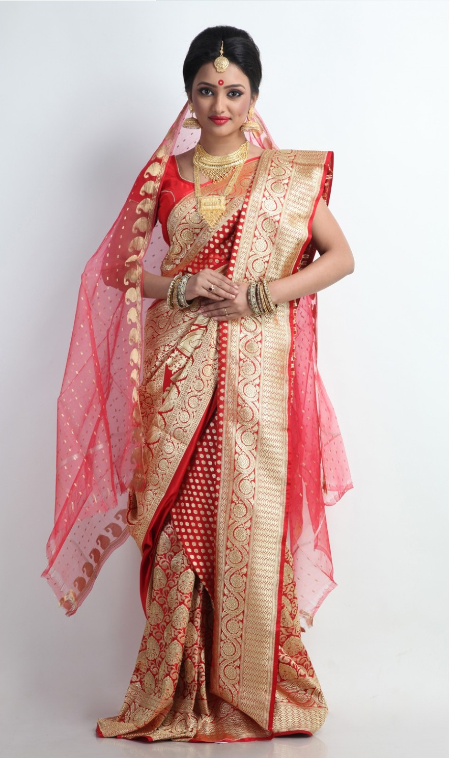 Brides And Their Connection With The Benarasi Sarees Some Unknown Facts About The Same Indian