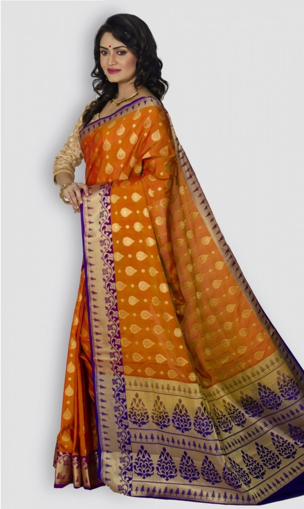 Sarees for fair complexation