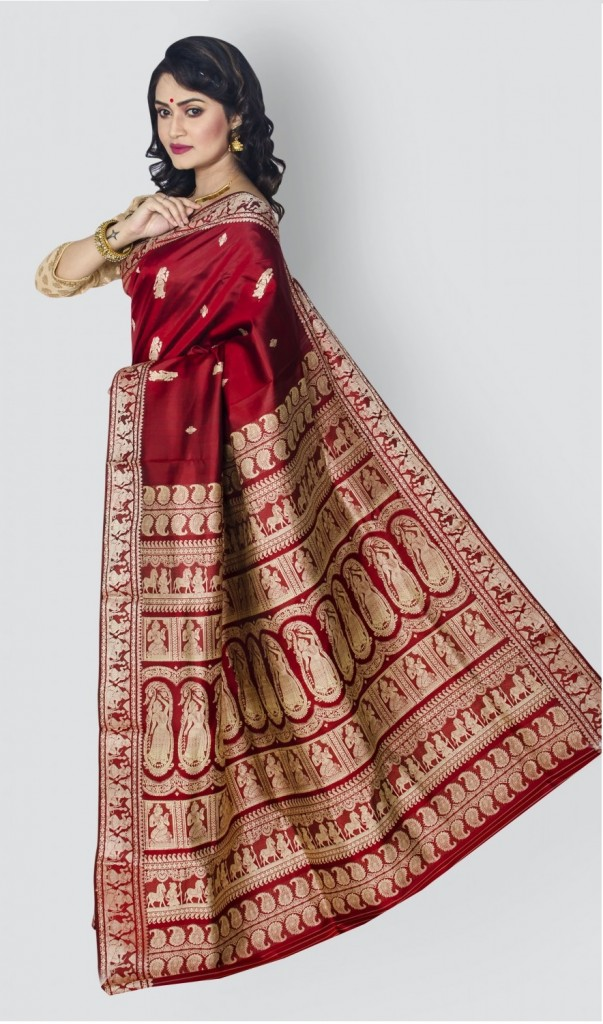 Sarees for dark complexation
