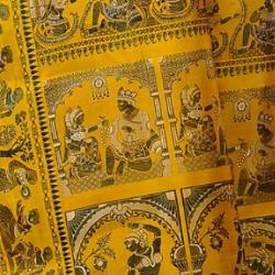 Mythological motifs in a Baluchari
