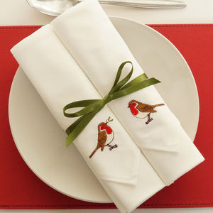 embroidered napkins for your mother in law