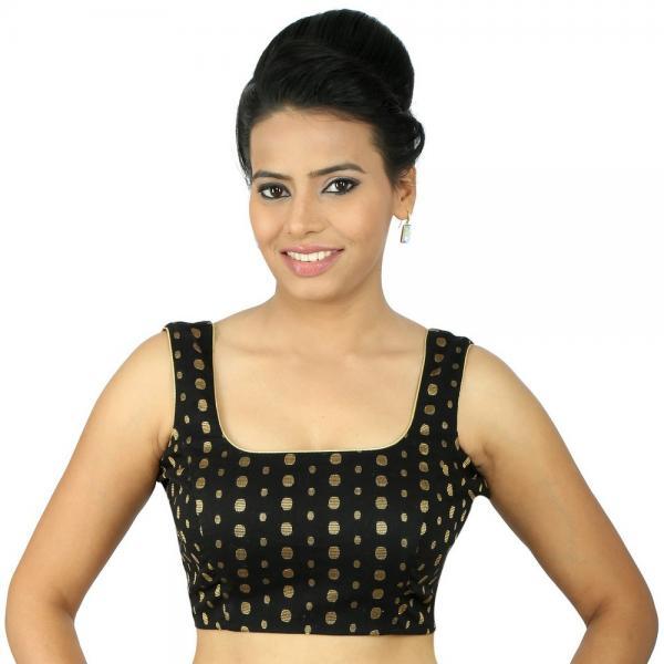 square blouse design
