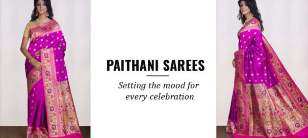 Paithani Sarees & its uniqueness