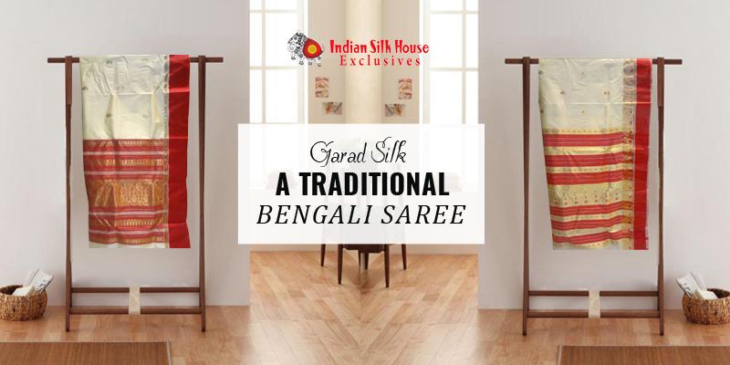 Garad Silk: A traditional Bengali saree - Indian Silk House