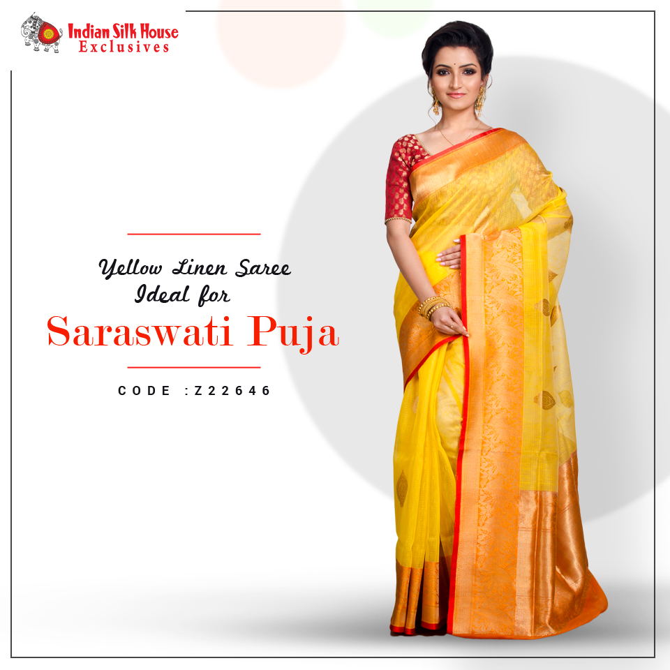 Yellow sarees