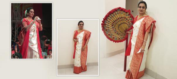 Gorgeous Kavita Samsukha before walking the Longest Ramp in Kolkata