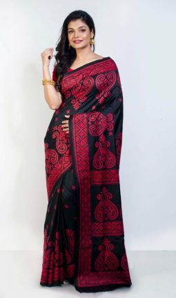 GUJRATI STITCH SAREE