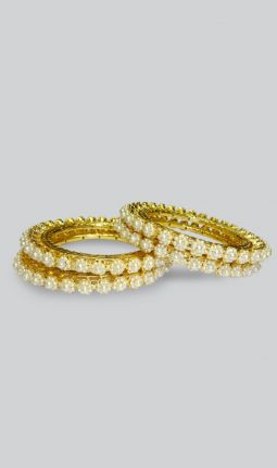 4 PIECES BANGLES SET
