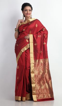 SOUTH INDIAN BLENDED SILK SAREE