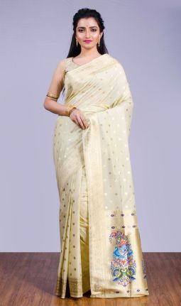 BLENDED SILK SAREE