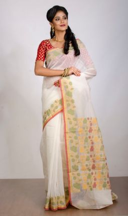 KORA - COTTON SAREE