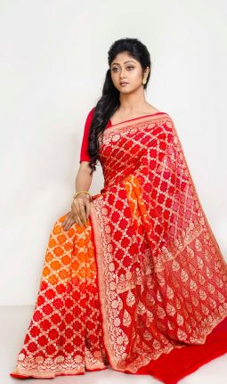 BANDHEJ GEORGETTE SAREE