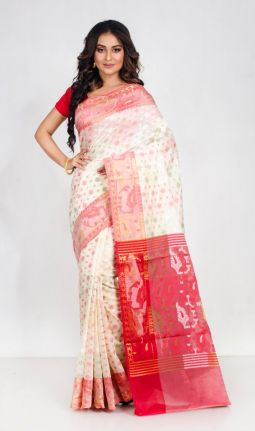 COTTON BENARASI SAREE