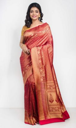 FANCY BROCADE SAREE