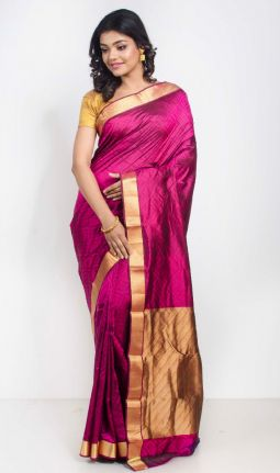 JAQUARD SILK SAREE