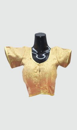 BROCADE PADDED BLOUSE