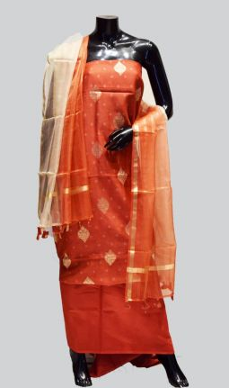 CHANDERI 3 PIECE SET